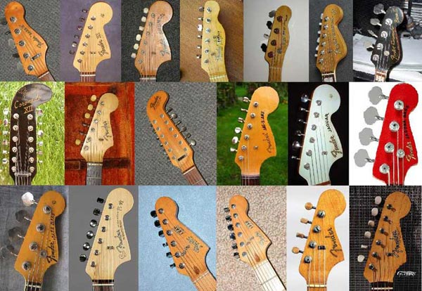 Fender Headstocks