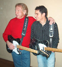 Buck Owens and Brad Paisley