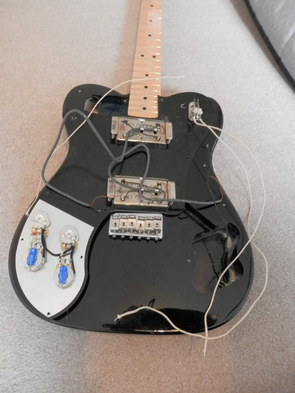 Fine Fender Telecaster Deluxe Wiring Diagram Mold - Electrical and ...