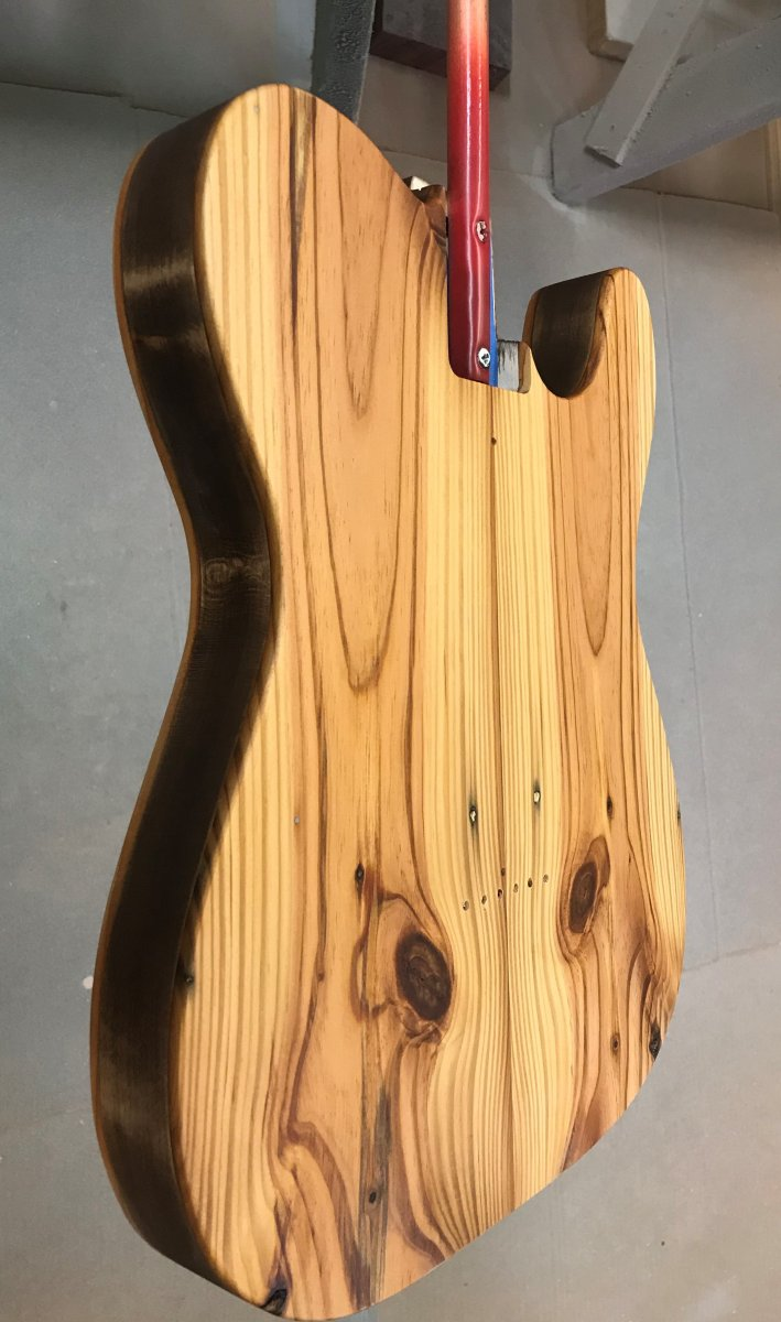 06-11-2019 - Firecaster II body glued up - 3.jpeg