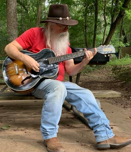 07-23-2020 - Me playing the Harmony Broadway H-954 at Mission Tejas State Park.jpg