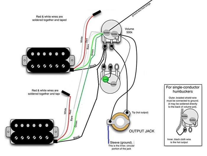 wiring color code furthermore fender pickup diagram on
