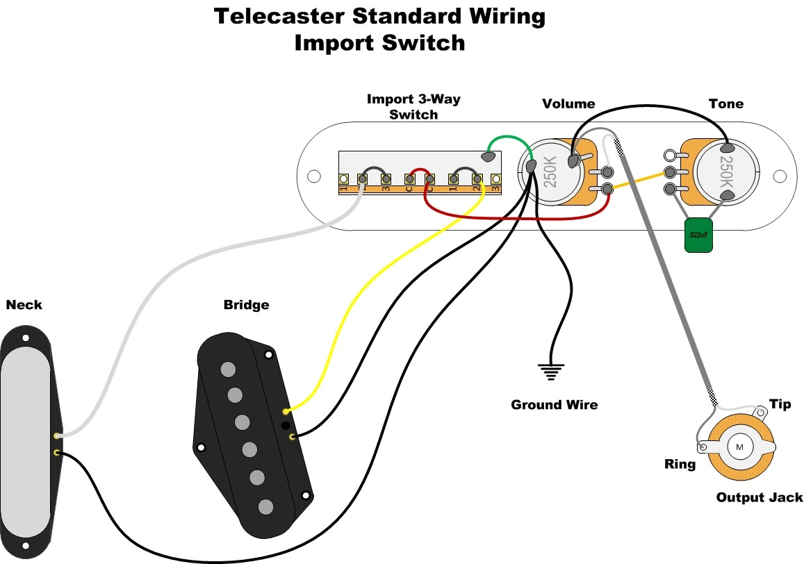 Can you help me solder pickups... | Telecaster Guitar Forum Fender Fidelitron Wiring Diagram on