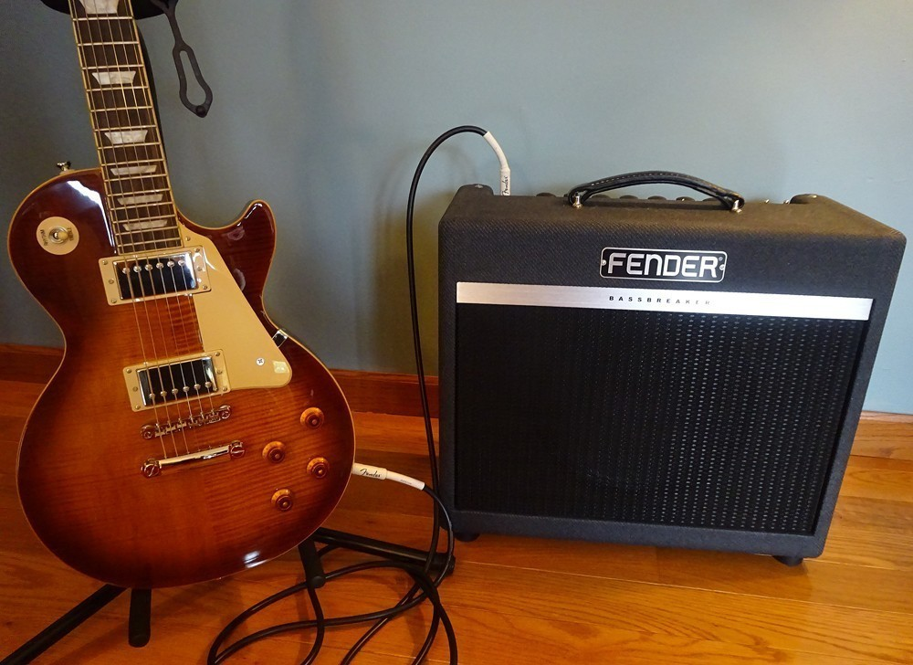 how to set up a guitar amp