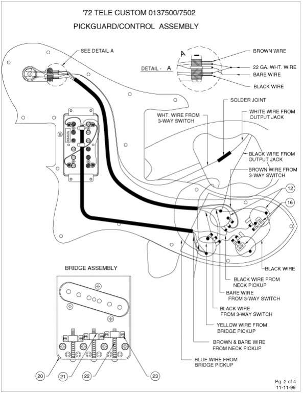 ngd fender telecaster custom mim 1998 page 2 telecaster 72 custom wiring diagram at readyjetset.co