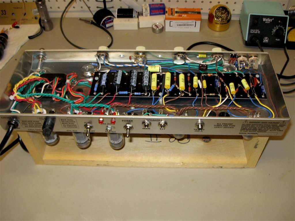 fender tweed vibrolux 5f11 build page 2 telecaster guitar forum fender 5f11 wiring diagram at bakdesigns.co