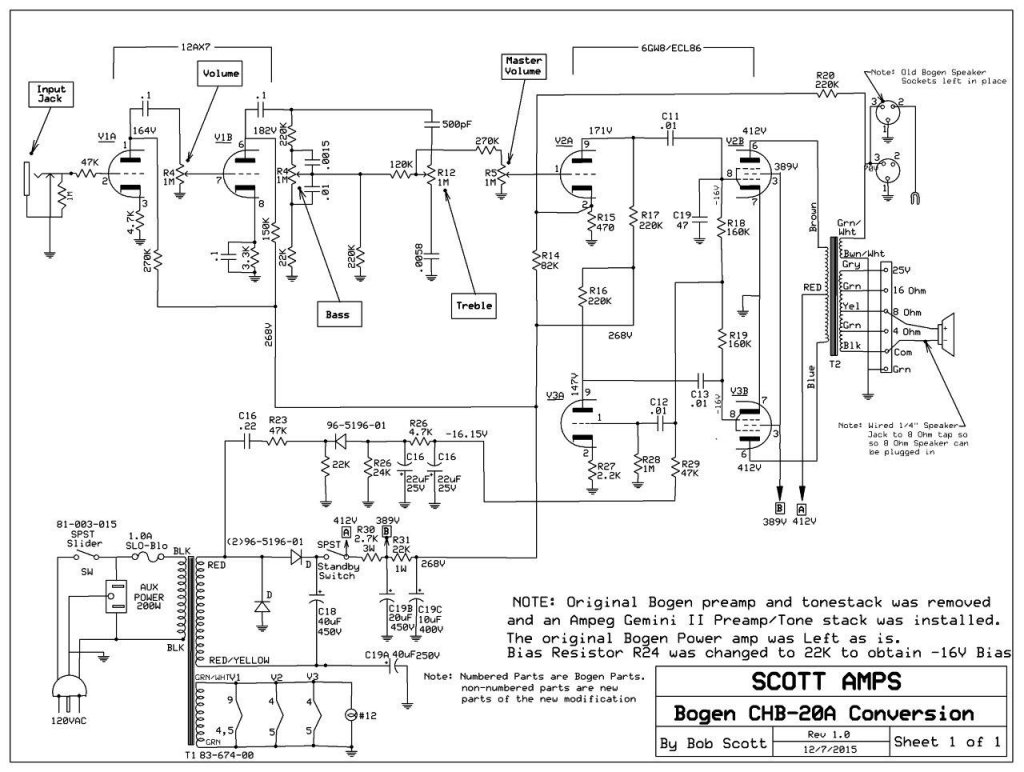 simple bogen chb20a conversion telecaster guitar forum Single Phase Transformer Wiring Diagram at reclaimingppi.co