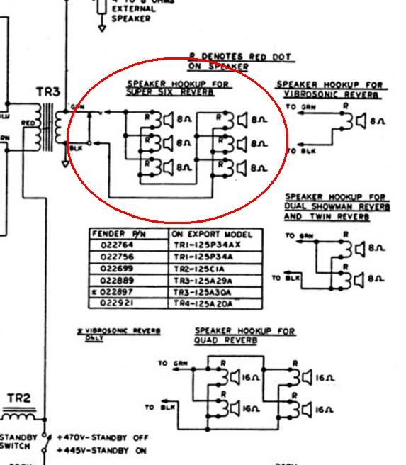 fender super reverb speaker wiring diagram wiring diagrams Fender Deluxe Reverb at crackthecode.co
