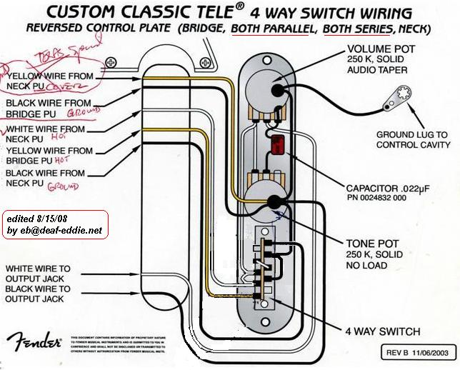 A question about S-1 Switching...   Page 2   Telecaster Guitar Forum