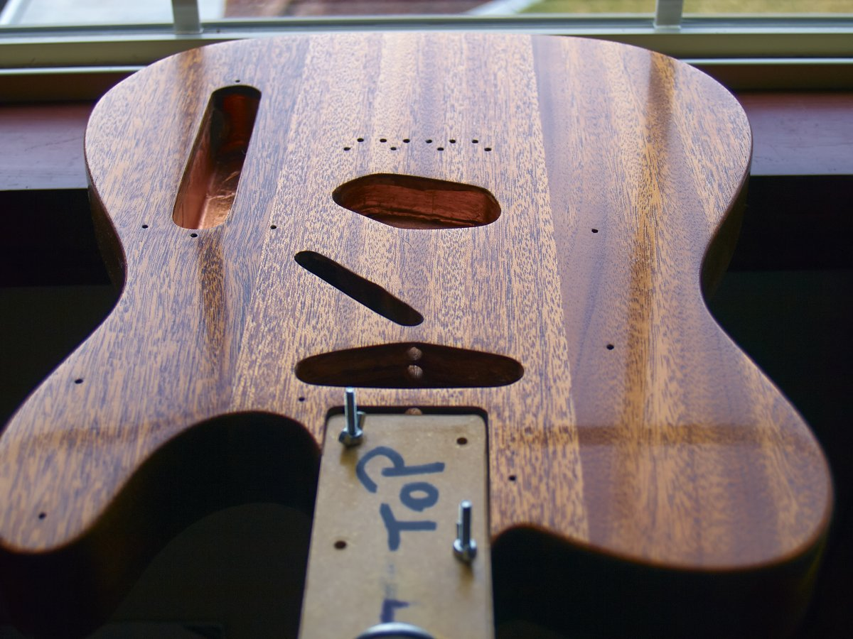 To sand or not to sand-? | Telecaster Guitar Forum