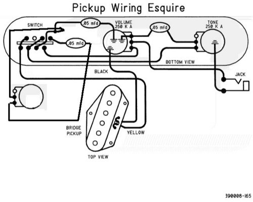 fender esquire wiring diagram wiring diagrams leftover esquire build telecaster guitar forum fender esquire wiring diagram