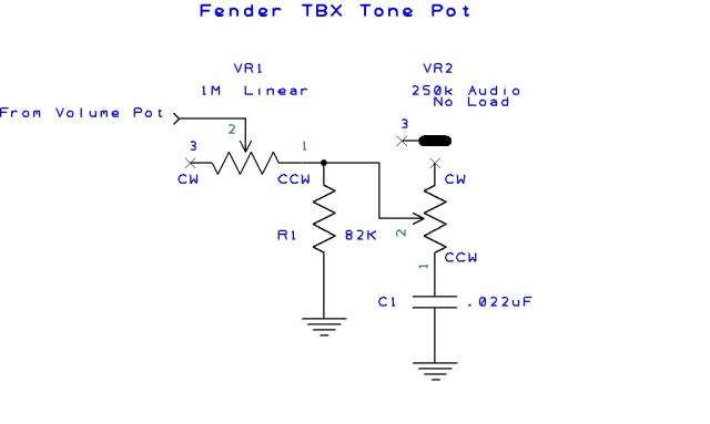 tbx tone control replacement telecaster guitar forum telecaster tbx tone wiring diagram at gsmx.co
