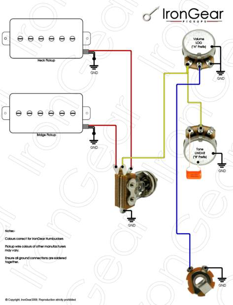 wiring help p90 hum 3 way gibson style switch telecaster guitar rh tdpri com 3 Single Coil Wiring Diagrams Double Humbucker Wiring-Diagram