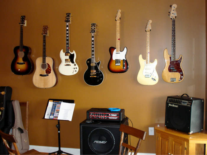 Hanging a guitar on the wall Telecaster Guitar Forum