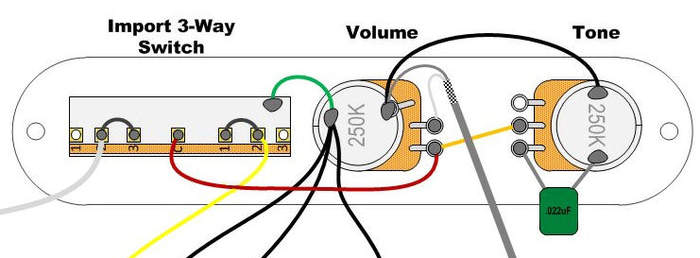 wiring cheap import ebotrade control plate telecaster guitar forum  at gsmx.co