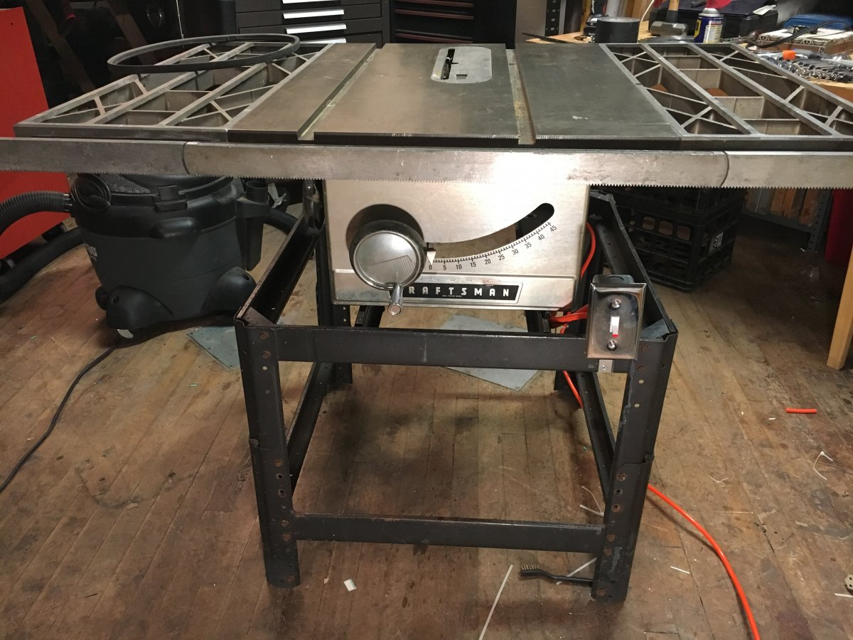Fine tuning a vintage craftsman table saw telecaster guitar forum img 0607g greentooth Images