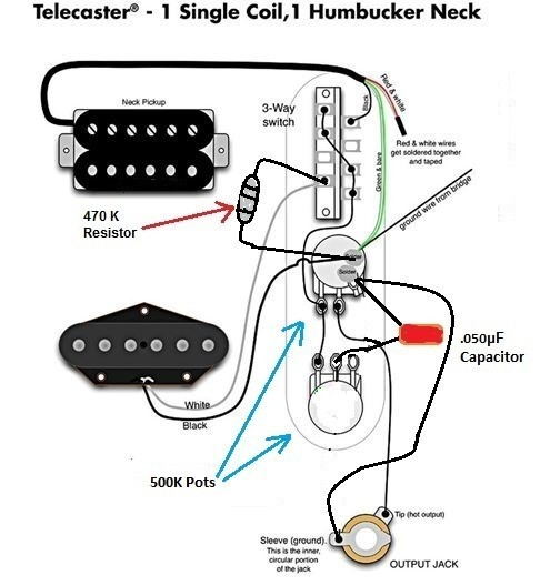 Dimarzio Fred Wiring Diagram