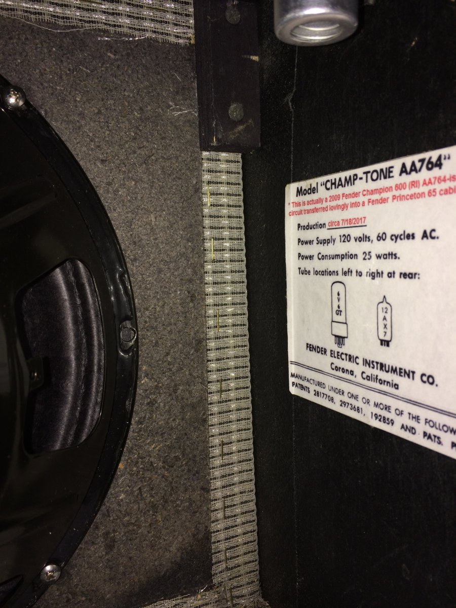 Fender Amp Cabinet Material Question    | Telecaster Guitar Forum