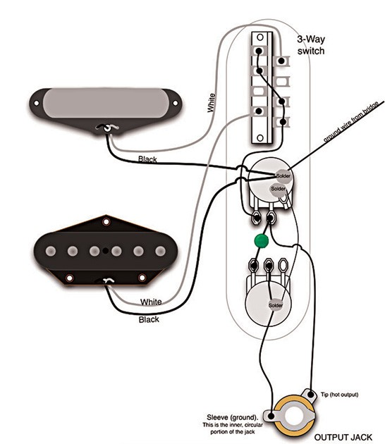 50s wiring on a tele? telecaster guitar forum telecaster tbx tone wiring diagram at creativeand.co