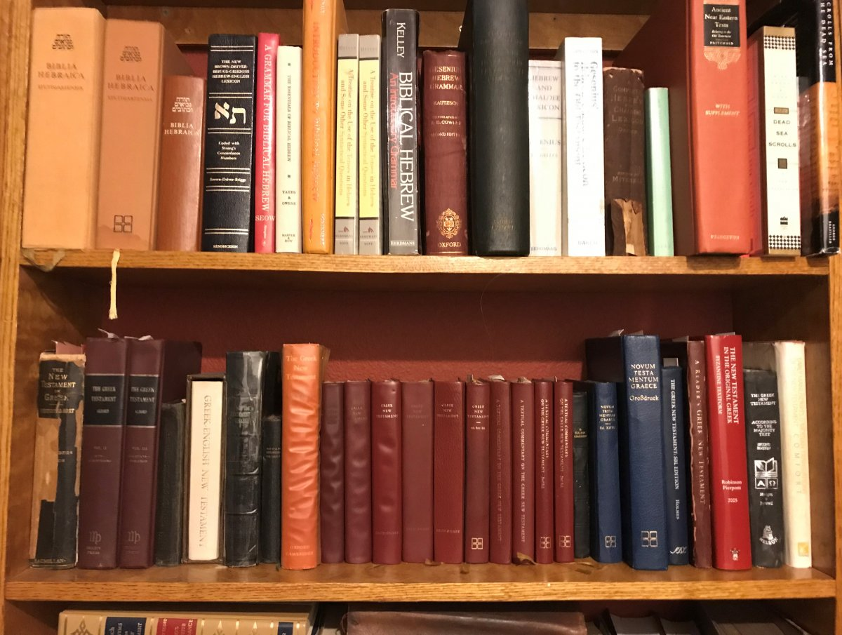 LGO books, Hebrew & Greek shelves.jpeg
