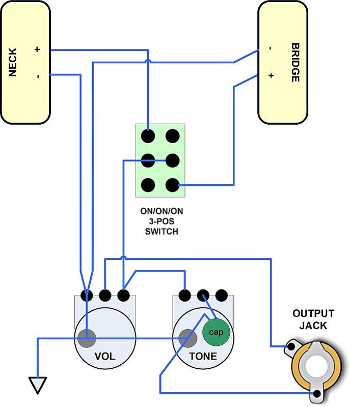 wiring diagram p90 pickups   26 wiring diagram images