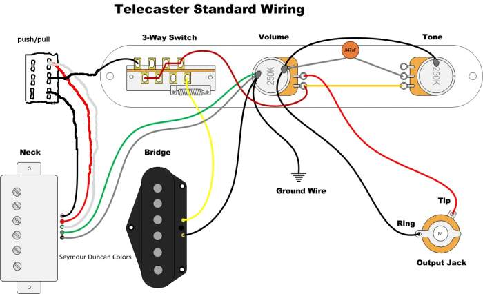 neck humbucker w coil split, bridge sc wiring telecaster guitar Epiphone Guitar Wiring Diagrams at bayanpartner.co