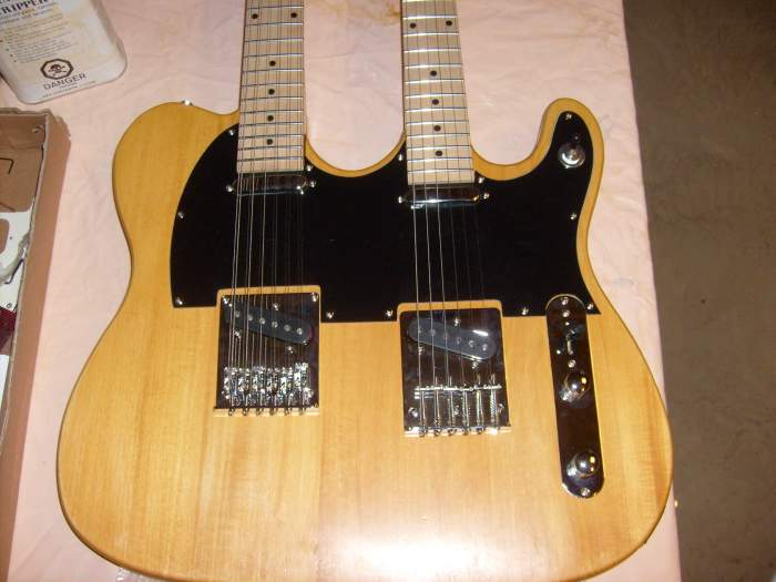 Double Neck Tele - need wiring diagram | Telecaster Guitar Forum