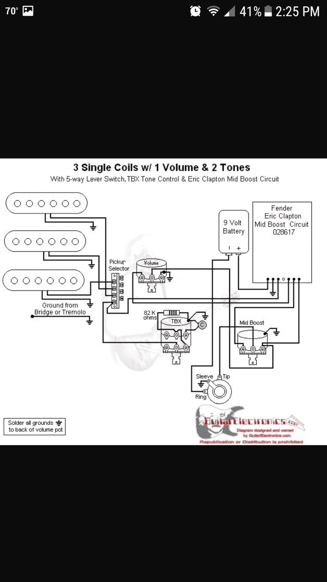 Help With Wiring Diagram Telecaster Guitar Forum Fender Eric Clapton Stratocaster 20171015 192356 Screenshot 20171031 142540