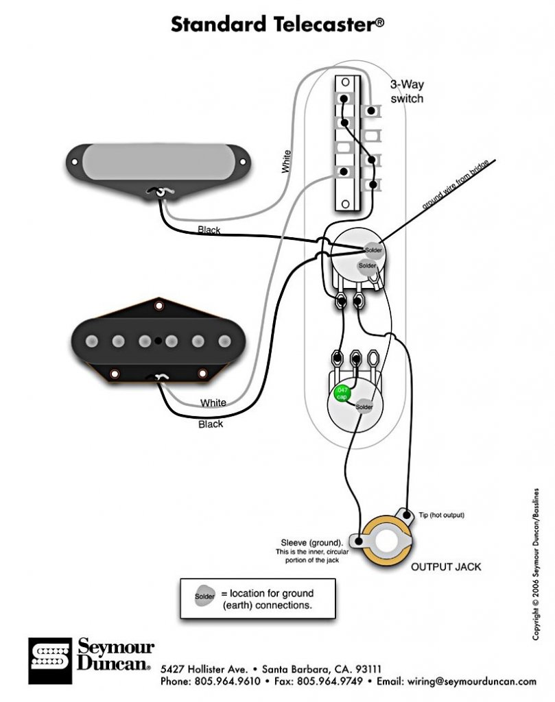 telecaster wiring diagram telecaster 3 pickup wiring diagrams Fender 3-Way Switch Wiring Diagram at crackthecode.co