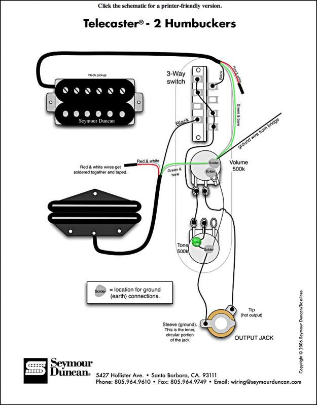 hot rails pickup wiring (help!) telecaster guitar forum telecaster pickup wiring diagram at couponss.co