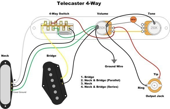 4 way switch problem | Telecaster Guitar Forum  Way Switch Wiring Diagram For Telecaster on