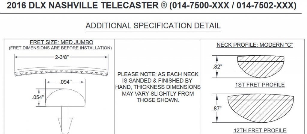 Telecaster Neck Dimensions Diagram - Library Of Wiring Diagram •