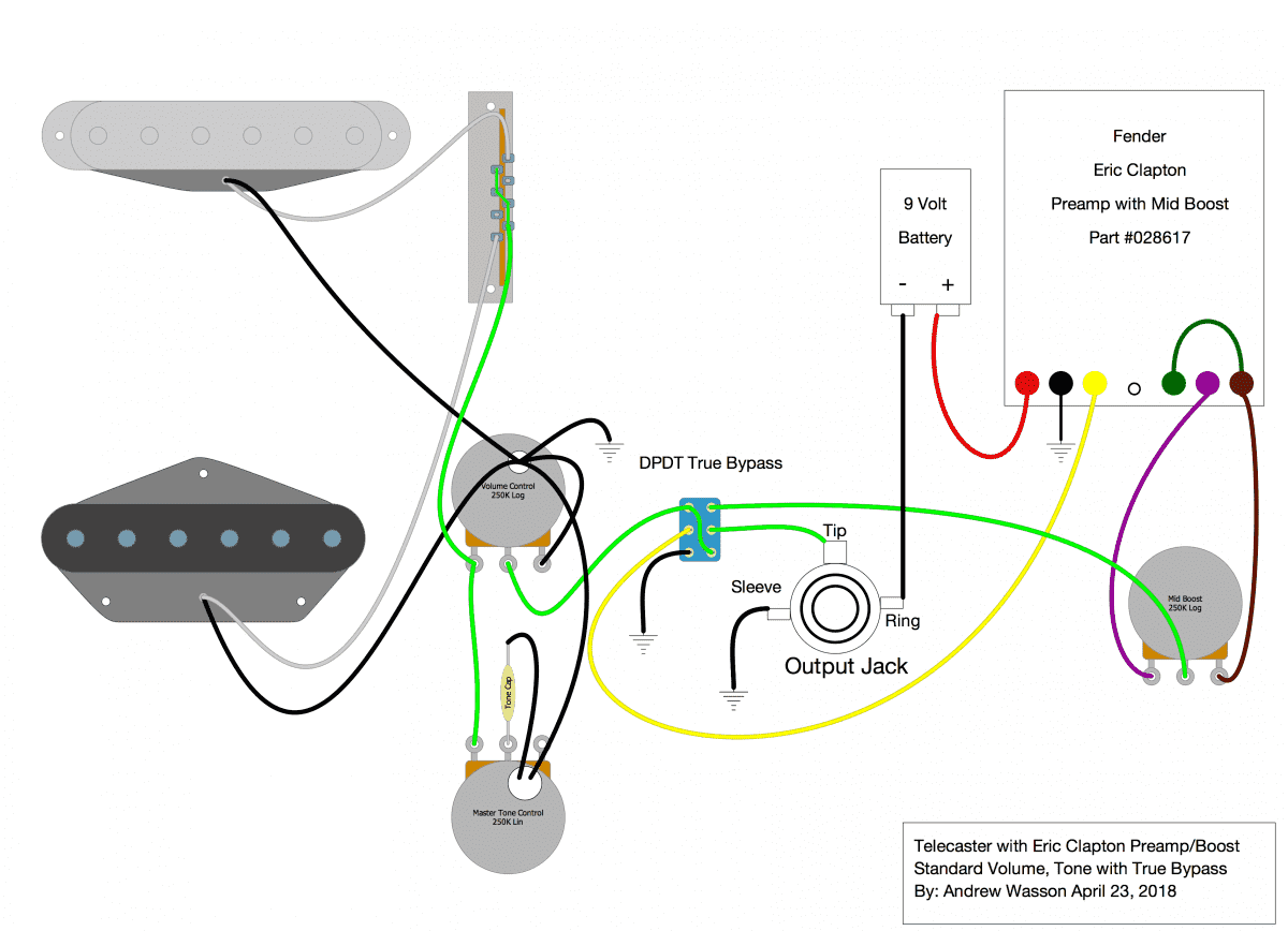 Re Wiring Help Please Andy Summers hybrid | Telecaster Guitar ForumTDPRI.com