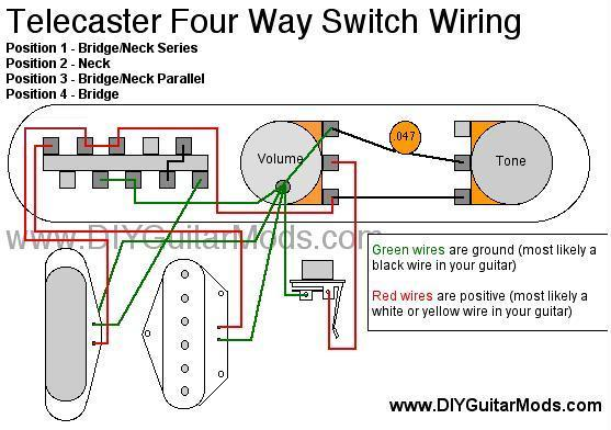 problems wiring twisted tele 4 way telecaster guitar forum twisted tele neck pickup wiring diagram at fashall.co