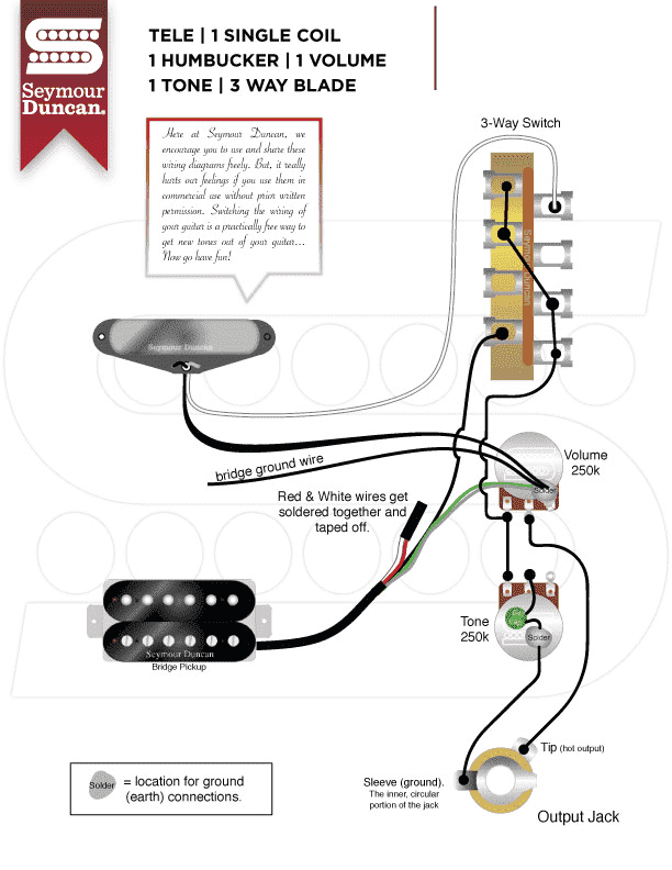 Seymour Duncan Telecaster Reverse Control Plate Wiring Diagram from www.tdpri.com
