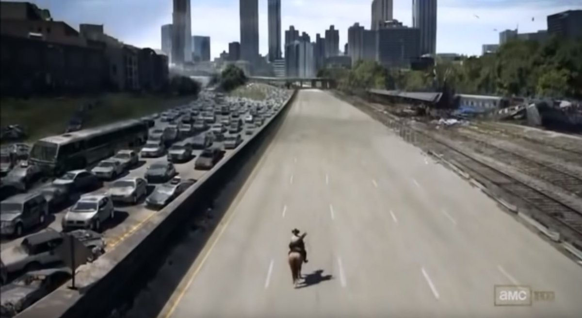 walkingdeadatlantatraffic.JPG