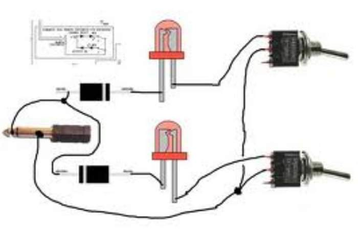 footswitch wiring telecaster guitar forum fender tele plus wiring fender princeton wiring diagram #38