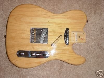 will a lite ash tele body work with a fender neck telecaster guitar forum. Black Bedroom Furniture Sets. Home Design Ideas