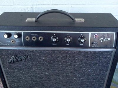 Let's see your Alamo Amps | Page 3 | Telecaster Guitar Forum on