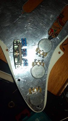 3 Humbuckers Series/Split/Parallel w/ Mini Toggles | Telecaster