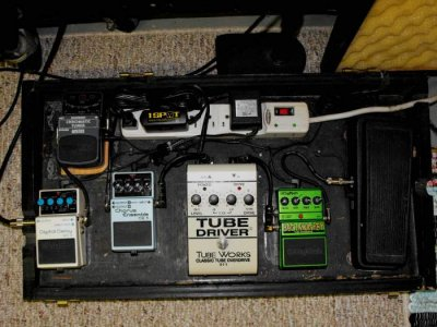 show us your pedal board page 248 telecaster guitar forum. Black Bedroom Furniture Sets. Home Design Ideas