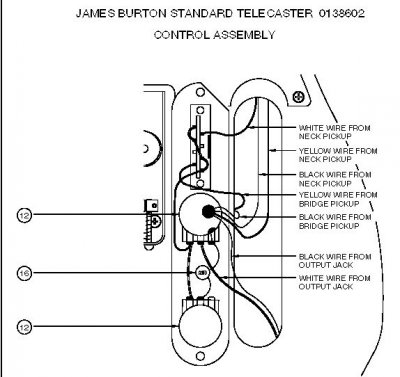 Crafted In Japan Telecaster wiring question | Telecaster ... on stratocaster wiring-diagram, james burton t-shirt, james burton tele, james burton today,