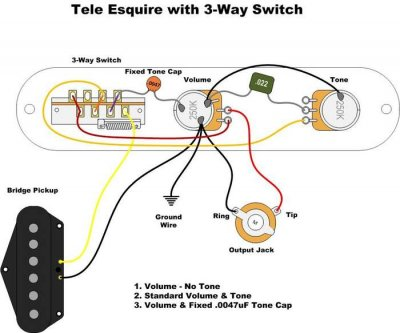 Esquire Wiring Woes      Telecaster    Guitar Forum