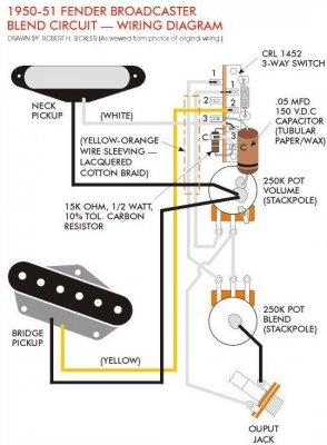 tele 1 volume 1 blend telecaster guitar forum