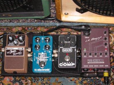 let 39 s see your acoustic pedalboard telecaster guitar forum. Black Bedroom Furniture Sets. Home Design Ideas