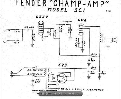 1946 Fender Woody Princeton Amp & Steel | Telecaster Guitar