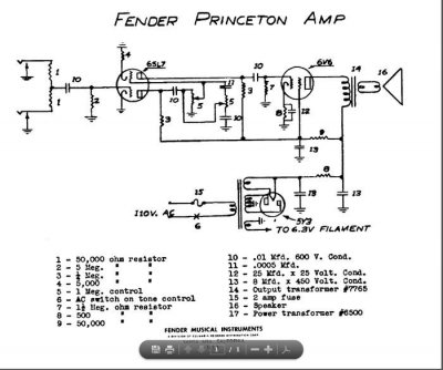 1946 Fender Woody Princeton Amp & Steel | Telecaster Guitar Forum on
