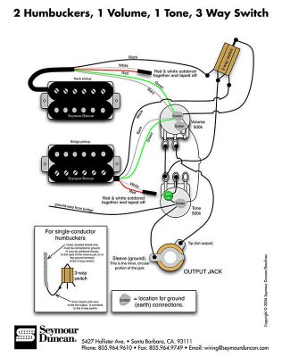 Two P90\'s, one volume pot, three-way switch | Telecaster Guitar Forum