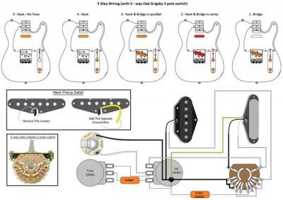 oak grigsby 4 way switch wiring diagram 4 way switch wiring diagram with 2 lights 5 way oak grigsby switch wiring | telecaster guitar forum #5
