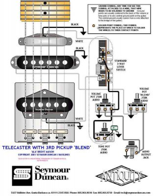 brent mason 39 s blend knob wiring diagram telecaster. Black Bedroom Furniture Sets. Home Design Ideas